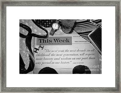 Wisdom Framed Print by Beverly Ann Shelby