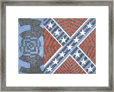 Wisdom Justice Moderation Framed Print by William Burns