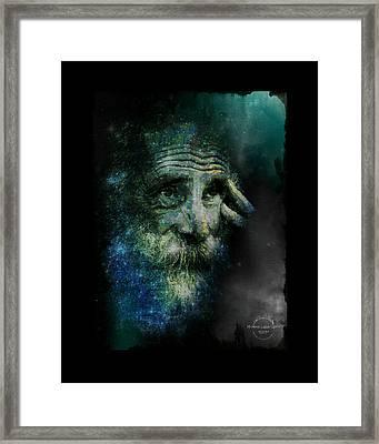 Wisdom Of The Stars Framed Print by Absinthe Art By Michelle LeAnn Scott