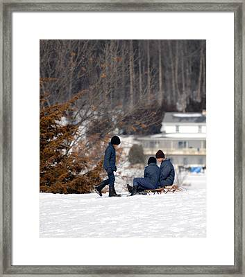 Framed Print featuring the photograph Wise Counsel by Linda Mishler