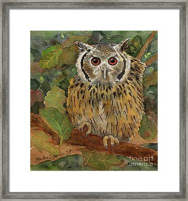 Wise Guy Framed Print
