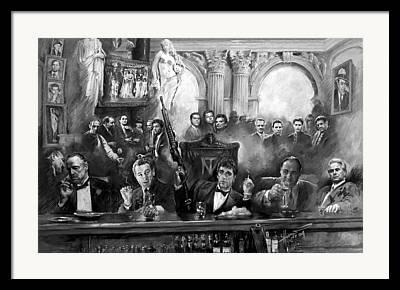 Capone Framed Prints