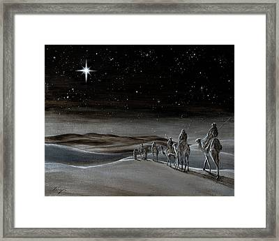 Wise Men From The East Framed Print