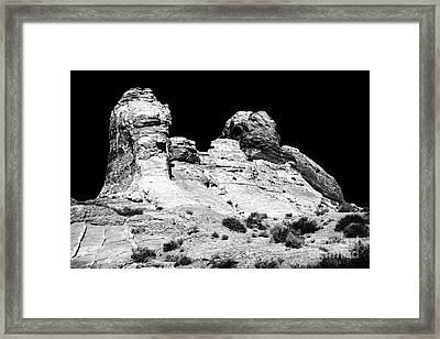 Wise Men Of The Desert Framed Print by John Rizzuto