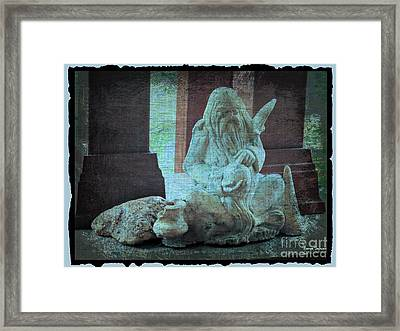 Wise Old Man Archetyple Framed Print