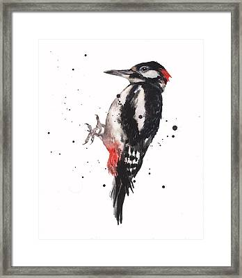 Wise Woody Framed Print by Alison Fennell