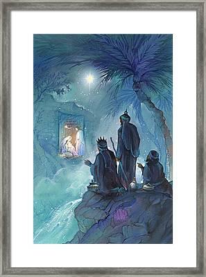 Wisemen Framed Print by P.s