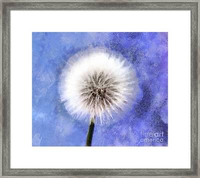 Wish A Little Wish Framed Print by Krissy Katsimbras