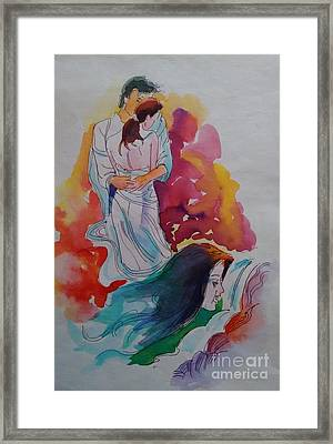 Wish I Could Framed Print by Chintaman Rudra
