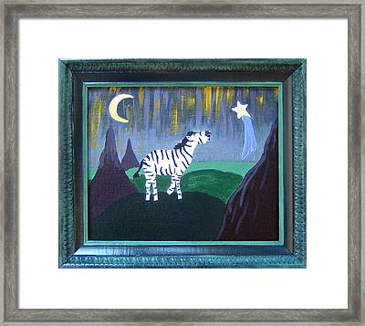 Wish Upon A Star Framed Print by Yvonne  Kroupa