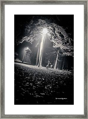Framed Print featuring the photograph Wish You Were Alone by Stwayne Keubrick