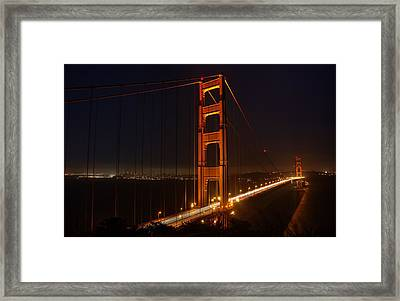 Wish You Were Here Framed Print by Peter Thoeny