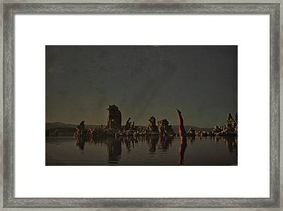 Wish You Were Here Framed Print by Rob Hans