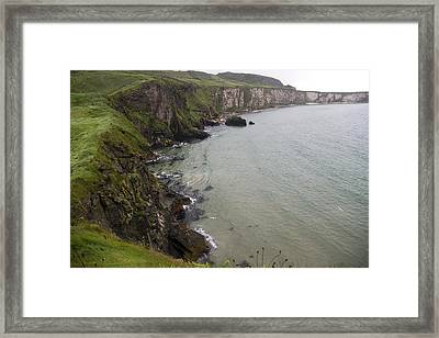 Wishes From The Sea Northern Ireland Framed Print