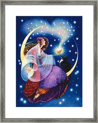 Wishes Framed Print by Lynn Bywaters