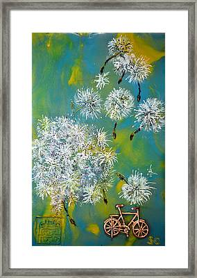 Wishes Framed Print by Sally Clark
