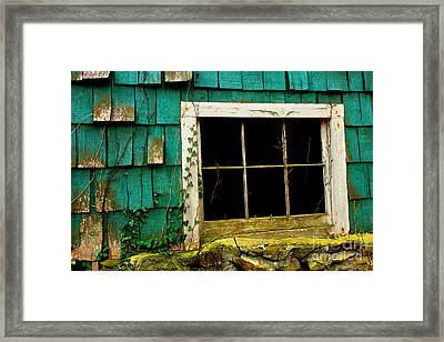 Wishes Through The Window Framed Print by Michael Eingle