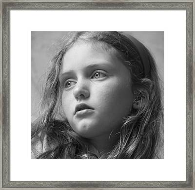 Wishful Thinking Framed Print by Liz Bills