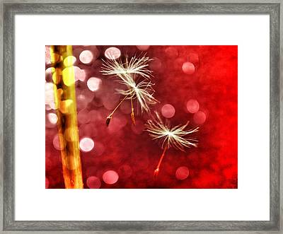 Wishing For Love Framed Print by Marianna Mills