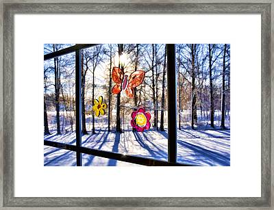 Wishing For Spring 1 Framed Print