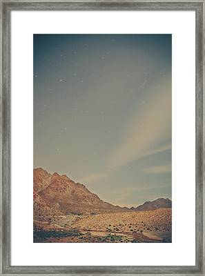 Wishing On Stars Framed Print by Laurie Search