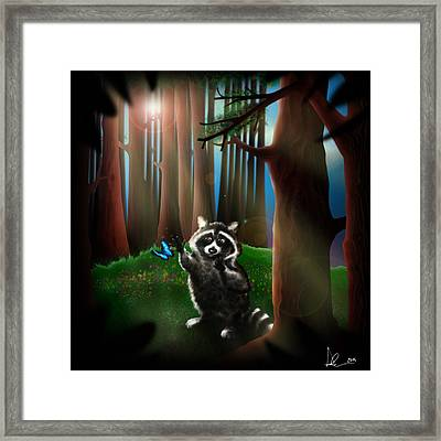 Wishing Upon A Dream Framed Print