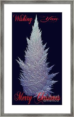 Wishing You Merry Christmas Framed Print