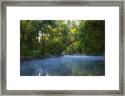 Wissahickon Creek - Flourtown Pa. Framed Print
