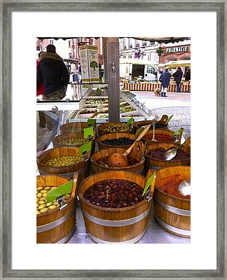 Wissembourg Markets Framed Print by Marty  Cobcroft