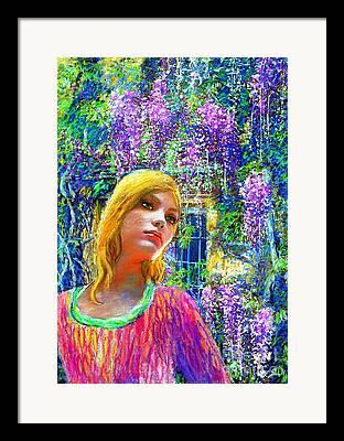 Wisteria Framed Prints
