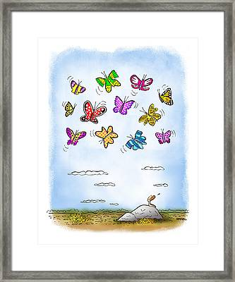 Wistful  Framed Print by Mark Armstrong