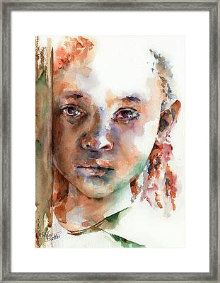 Wistful Framed Print by Stephie Butler