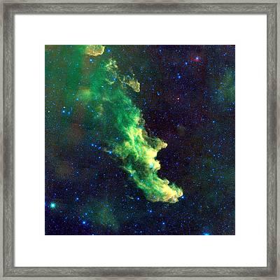 Witch Head Nebula Framed Print