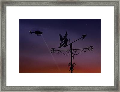 Witch Hunt Framed Print by Richard Piper