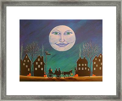 Witch Moon Framed Print by Christine Altmann