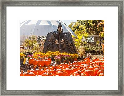 Witch On Watch Framed Print