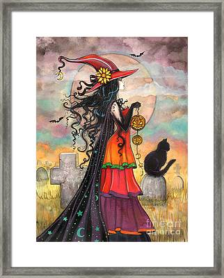 Witch Way Framed Print