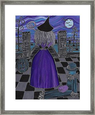 Witch World Framed Print
