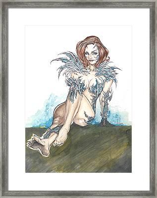 Witchblade Framed Print