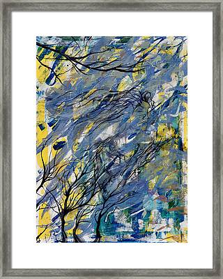 Witched Trees Framed Print by Fromatoz arts