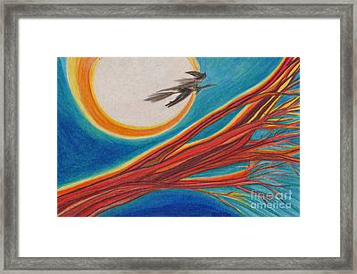 Witches' Branch 1 By Jrr Framed Print