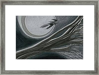 Witches' Branch Grey By Jrr Framed Print