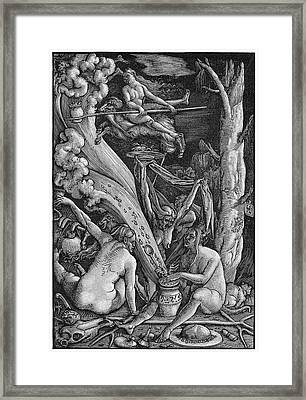 Witches' Sabbath, 1514 Framed Print by Granger