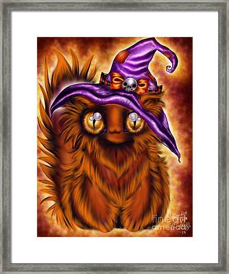 Witchkitty Framed Print by Coriander  Shea