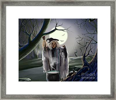 Witch's Potion Framed Print