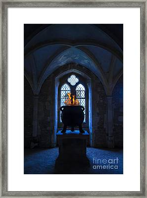 Witch's Potion Framed Print by Svetlana Sewell