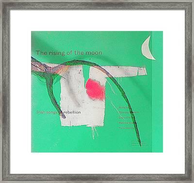 Songs Of Rebellion Framed Print by Val Byrne