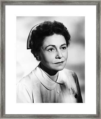 With A Song In My Heart, Thelma Ritter Framed Print by Everett