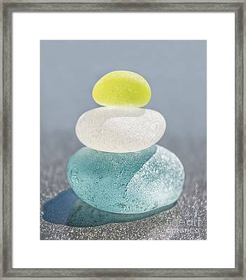 With A Twist Framed Print