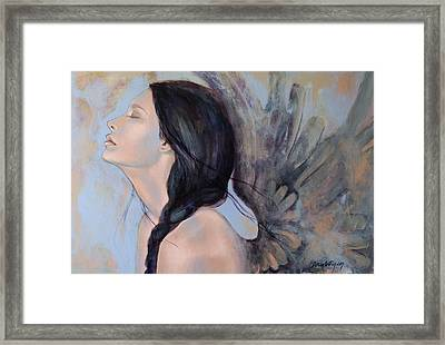 With Ancient Love Framed Print by Dorina  Costras